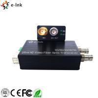 Quality Mini Converter Optical Fiber 12G-SDI with Reverse RS485 and loop out Single Mode for sale