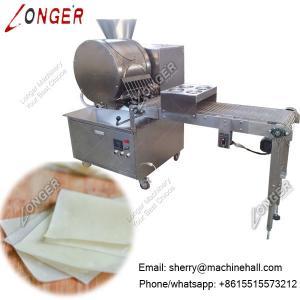 Electric Spring Roll Sheet Maker, Samosa Pastry Sheet Making Machine Manufactures