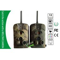 China SMS MMS Forest Deer Hunting Camera , Black IR Motion Detection Wild Camera on sale