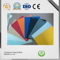 ASTM Standard Pre Painted Aluminium For Ceiling / Roofing / Window Shade
