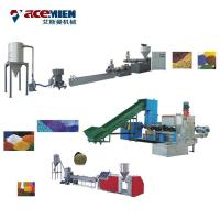 PP PE HDPE LDPE Plastic Granulator Machine Recycling Pelletizer Machinery Manufactures
