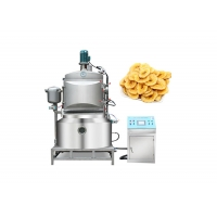 China Thermal Oil 700*400mm Vacuum Automatic Fryer Machine on sale