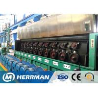 High Speed Aluminium Wire Rod Drawing Machine Separate Motor Controlled Manufactures