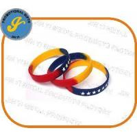 Silk-Screen Printed Silicone Bracelet Manufactures