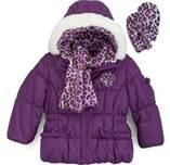 China Nice - looking lovely toddler winter coats for little girl with Front SBS Zipper on sale
