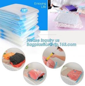 China vacuum storage bag set, plastic nylon pe vac bag for travel, Ziplock clothes storage bags vacuum, bagplastics, bagease on sale