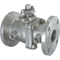 Heat Preservation Jacket Insulation floating type ball valve With Lever Operator Manufactures