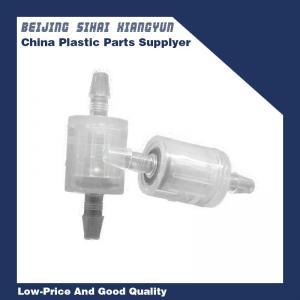 China Plastic Non Return Valve 1/8 Single Way Brass Spring Stop Valve For Vacuum on sale
