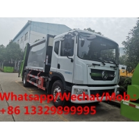 China NEW DESIGN NEW FACE!DONGFENG D9 10cbm garbage compactor truck for sale, HOT SALE! wastes collecting vehicle for sale on sale