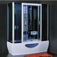 Quality Modern Rectangular Shower Enclosure With Sliding Door Steam Room And Shower for sale