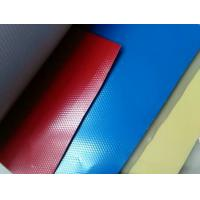 Diamond Pressed  Painted Aluminium Zinc Plate , Base Metal  Painted With Color Coating Manufactures