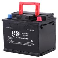 Buy cheap Small DIN 60 battery Sealed Car Battery Lead Acid Battery 12v 55ah ISO9001 approvals from wholesalers