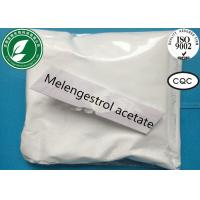 Buy cheap Estrogen Steroid Powder Melengestrol Acetate For Anti Cancer CAS 2919-66-6 from wholesalers