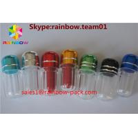 China Bullet Sex Plastic Pill Bottles , hexagon plastic pill containers penis shape on sale