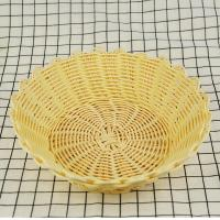 Eco-friendly and disposable handmade decorative cheap price pp fruit baskets storage baskets Manufactures