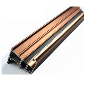 6063 U Shaped Aluminium Profile , Mechanically Polished Aluminium Corner Profile Joint Manufactures