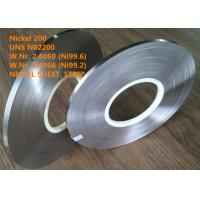 China UNS N02200 Commercially Pure Or Low Alloy Nickel Good Magnetostrictive Property on sale