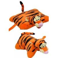 Orange Lovely Disney Tigger Pillow Plush Cushion and Pillow With Plush Tigger Head For Bedding Manufactures
