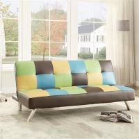 Colorful Fold Up Sleeping Sofa Bed Office , Living Room