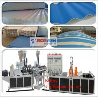 PVC Tile Forming Machine Type and Roof Use PVC Corrugated Sheet Forming Machine Manufactures