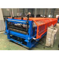Trapezoidal Roof Panel Making Machine , Steel Roof Roll Forming Machine Manufactures