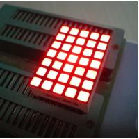 Waterproof 5x7 Dot Matrix Led Display Square with High brightness Manufactures