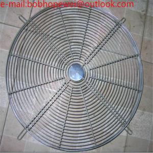 China steel wire fan cover/16'(443-447mm)fan parts/fan guard grill/condenser fan guard /air conditioner fan covers on sale