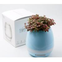 Intelligent Plastic Bluetooth Led Lighted Flower Pots Touching Music Modern Design Manufactures