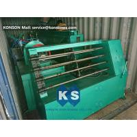 Galvanized Hexagonal Gabion Wire Netting Machine With Automatic Oil System for sale