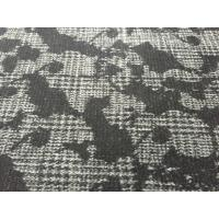 Fashion Design Double Knit Wool Fabric For Dressmaking Warm Feeling 68012-1 Manufactures