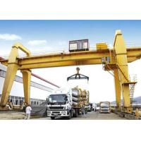 40 50 100 Ton Double Girder Gantry Crane Rail Mounted 18 - 35m Span Optional Color for sale