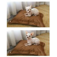 China Pillow Shape Shredded Memory Foam Dog Bed with Waterproof Removable Washable Cover on sale