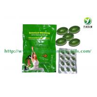 Weight Loss  Natural Slimming Capsule , Women Green Meizitang Soft Gel Manufactures