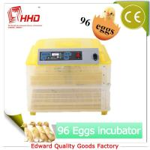 EW-96 Automatic 12v 220v CE certificate new mini egg incubator for sale Manufactures