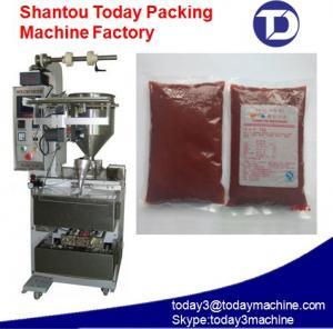China 100-500ml Shampoo/ketchup/sauce/olive oil/milk/juice packing machine on sale