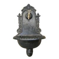 China Garden Decoration Cast Iron Wall Fountain Antique Imitation Environment Friendly on sale