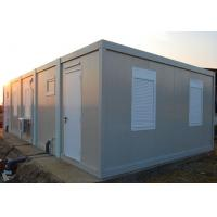 Two Rooms Detachable Container House Galvanized Steel Structure Material Manufactures