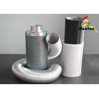 Aluminium 100mm Hepa Carbon Filter Durable Custom High Efficiency Manufactures