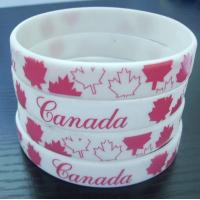2015 China wholesale silicone bracelet band wristband with custom silkscreen logo,OEM/ODM highly welcomed Manufactures