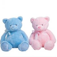 Lovely 12 Inch Blue Teddy Bear Stuffed Soft Plush Toys For Promotion Gifts Manufactures