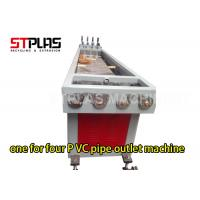 High Capacity One For Four PVC Pipe Extrusion Machine / Plastic Pipe Extrusion Line Manufactures