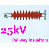 Safety Silicone Rubber Insulator For Railway High Vandal Resistance Manufactures