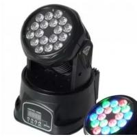Disco Led Stage Lighting 18pcs Mini Moving Light 100-240V 50-60HZ Manufactures