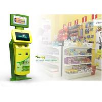 China LED Monitor, Wireless Internet Multi Media Ticketing / Card Printing Free Standing Kiosk on sale