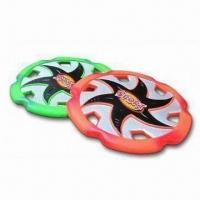 23cm Flying Discs, Measures 23 x 23 x 1.4cmm, Made of PU Material Manufactures