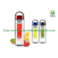 700ml Tritan Fruit Infuser Skincare And Cosmetics , Lemon Water Bottle Manufactures