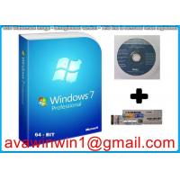 Korean Microsoft Windows 7 Professional 64 Bit , Windows 7 Pro Retail Box Manufactures