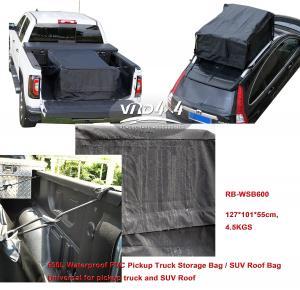 Truck Kits Storage bag PVC Cabs Bag SUV Roof Bag OEM Portable Waterproof Backbag Pickup Truck Manufactures