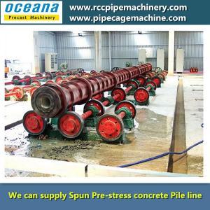 Centrifugal concrete Pile Spun Machine Manufactures
