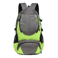 Green / Black Color Rock Climbing Backpack Customized Printing Surface Manufactures